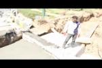 اجرای همزمان ادامه خط انتقال پساب تصفیه خانۀ فاضلاب و کانال دفع آبهای سطحی بلوار طالقانی_ میدان شهدا نجف آباد/فیلم