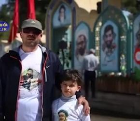 مهمانان ویژه شهید ححجی در عید نوروز + فیلم